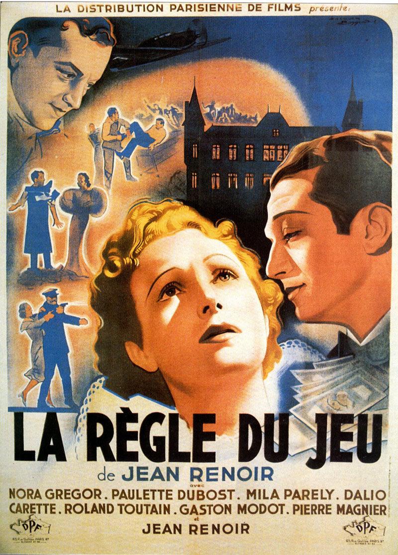 Cartel Francia de 'La regla del juego'