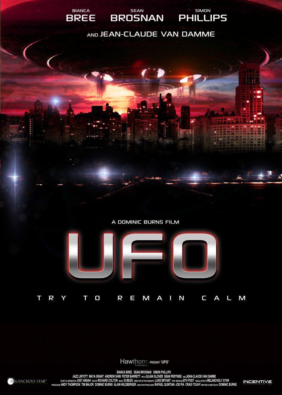 Cartel Reino Unido de 'U.F.O.'