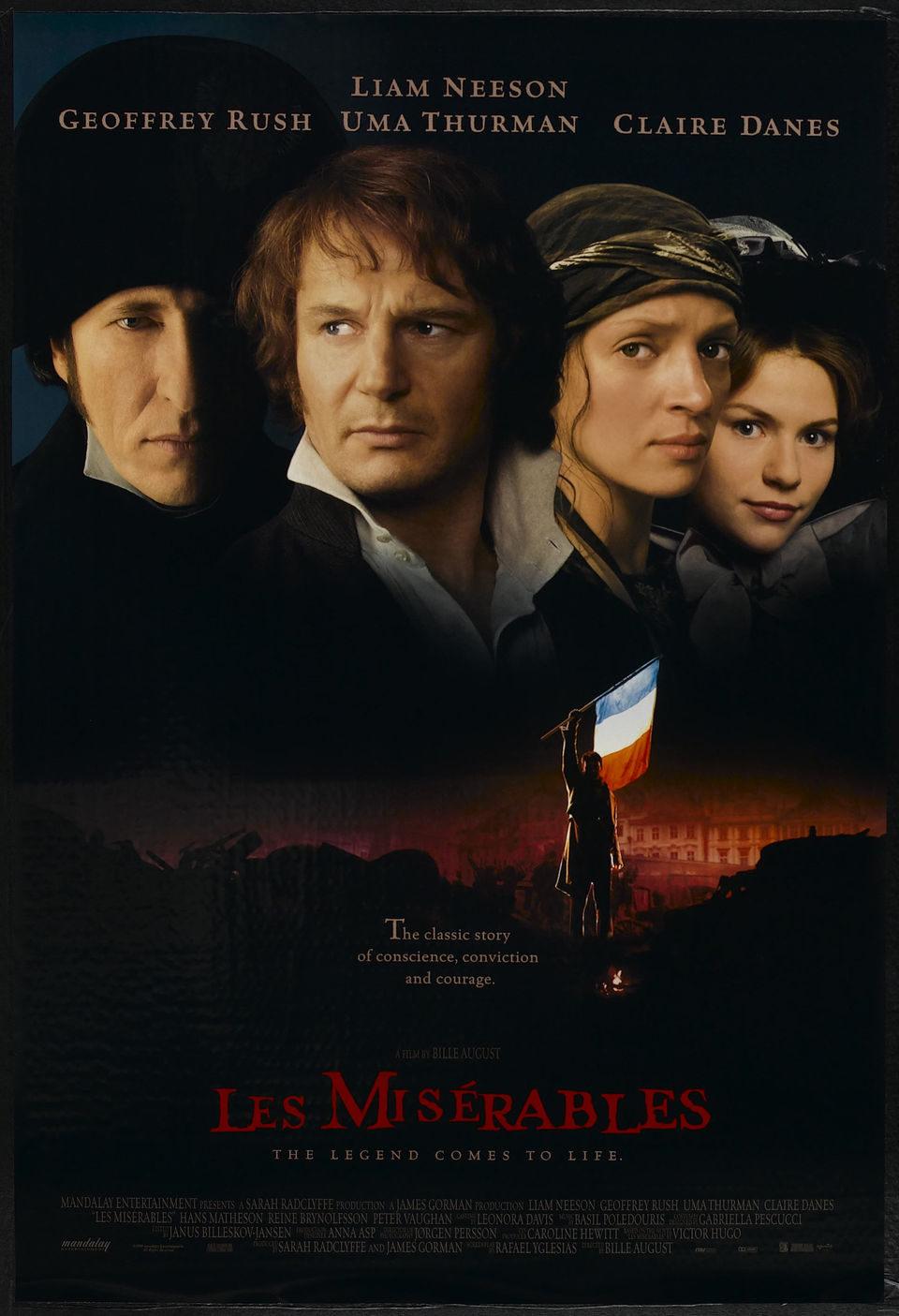 Cartel EEUU de 'Los Miserables'