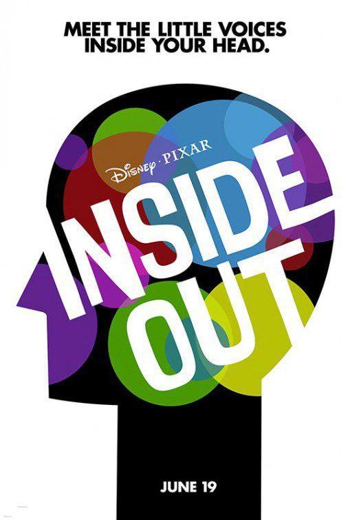 Cartel Teaser EEUU de 'Del revés (Inside Out)'