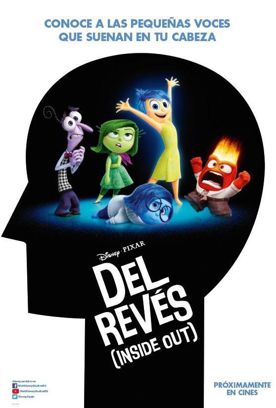 Cartel España de 'Del revés (Inside Out)'