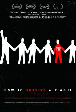 Cartel de How to Survive a Plague