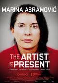 Cartel Marina Abramovic: La artista está presente