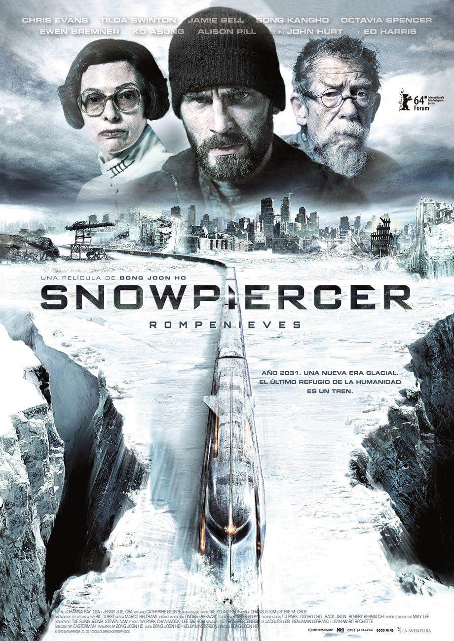 Cartel España de 'Snowpiercer (Rompenieves)'