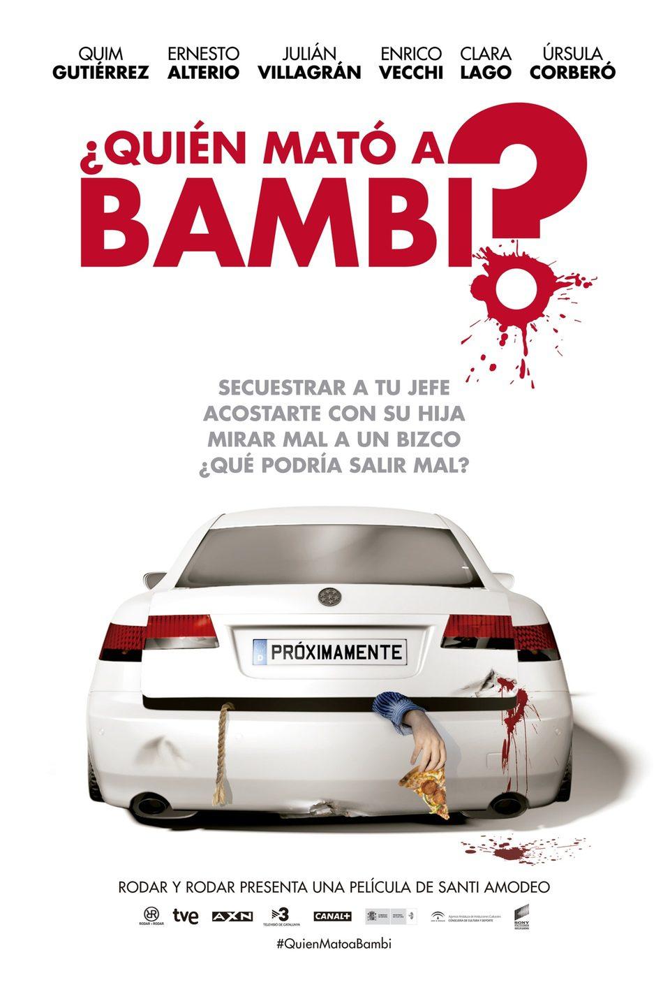 Cartel Teaser España de '¿Quién mató a Bambi?'