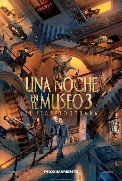 Cartel México de 'Noche en el museo: El secreto del faraón'