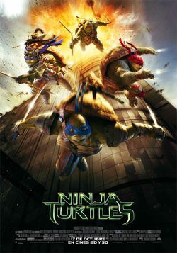 Cartel de Ninja Turtles