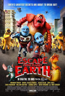 Cartel de Escape from Planet Earth