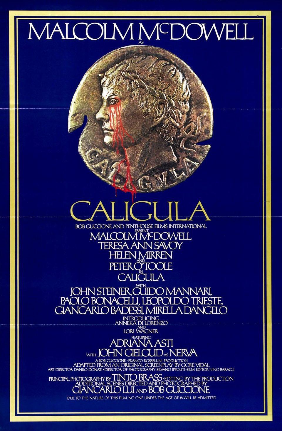Cartel EEUU de 'Calígula'