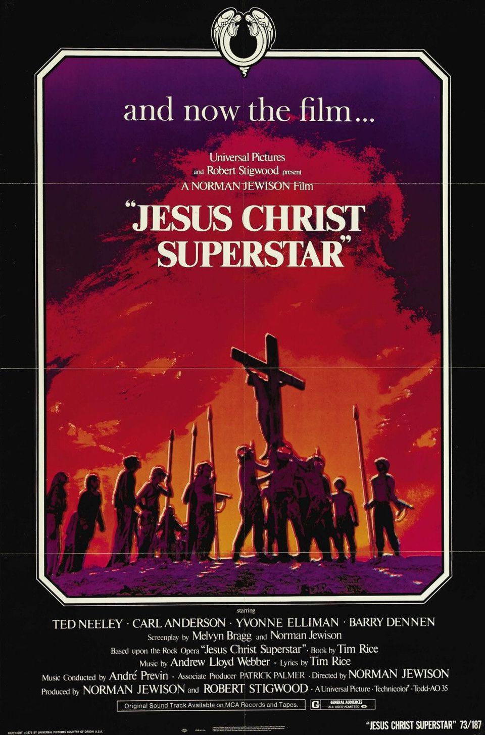 Cartel EEUU de 'Jesucristo Superstar'