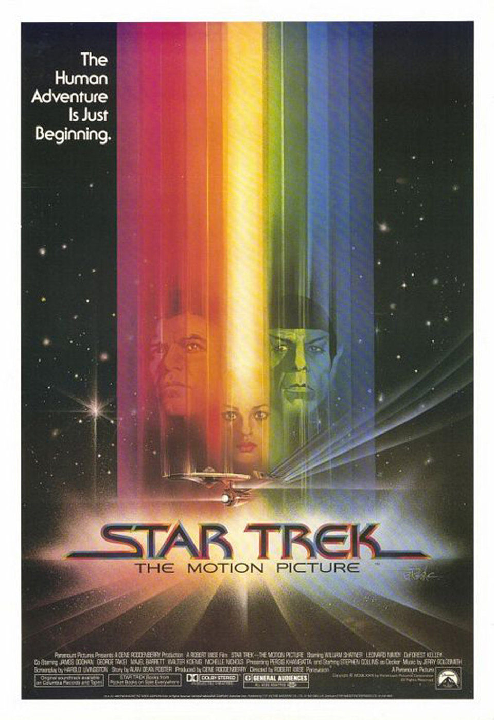 Cartel EEUU de 'Star Trek: La película'