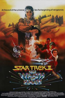 Cartel de Star Trek II: La ira de Khan