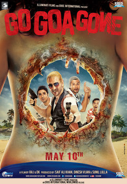 Cartel de Go Goa Gone