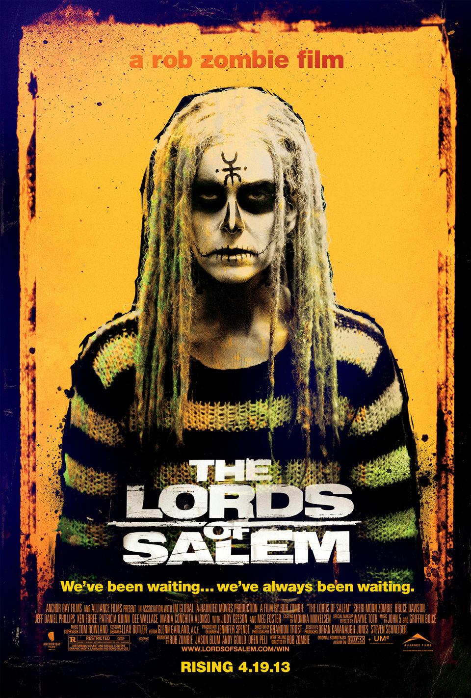 Cartel EEUU de 'The Lords of Salem'