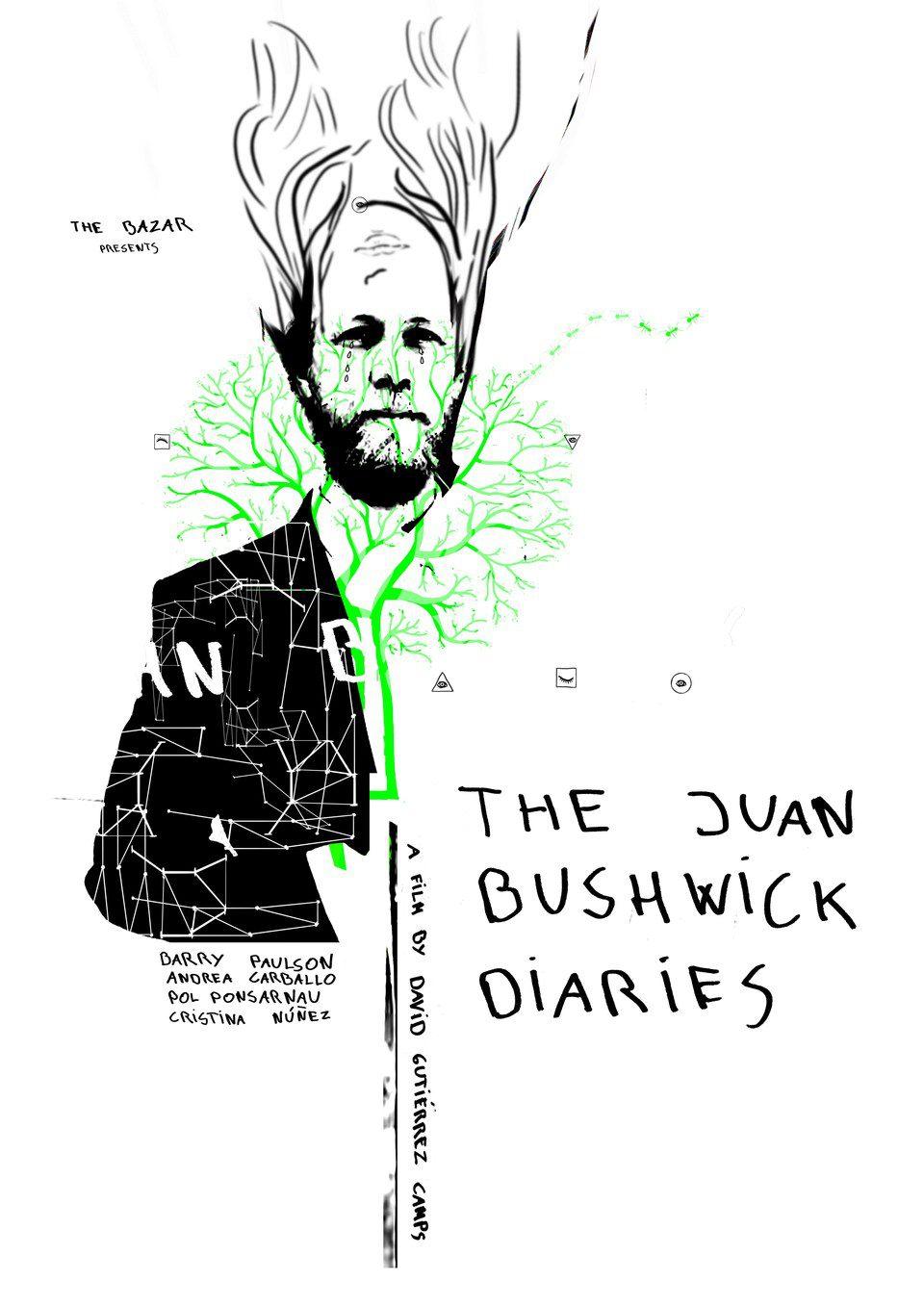 Cartel España de 'The Juan Bushwick Diaries'