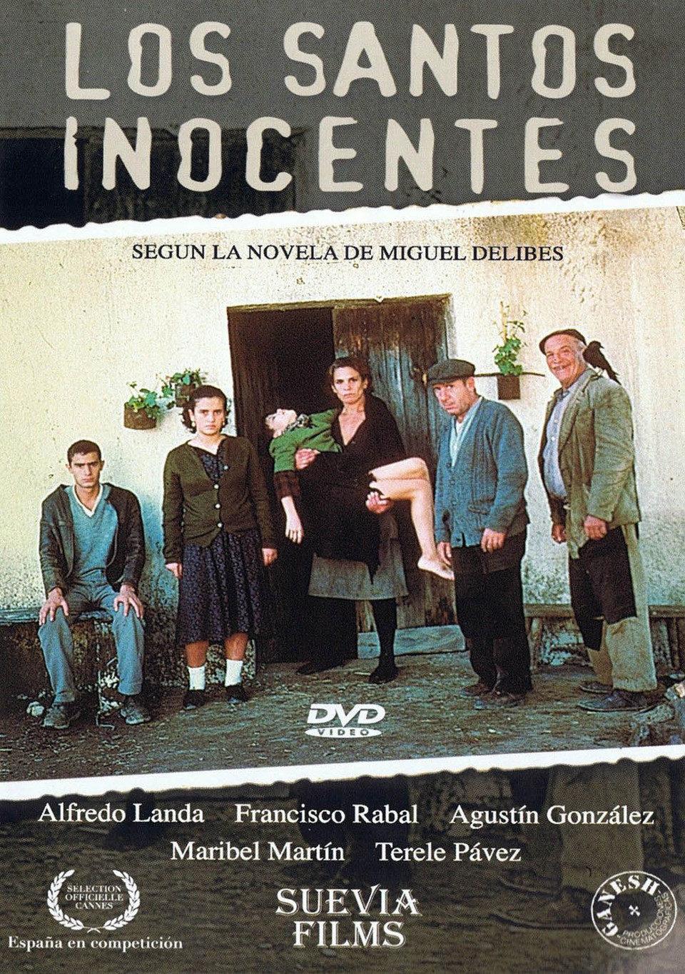 Cartel España de 'Los santos inocentes'