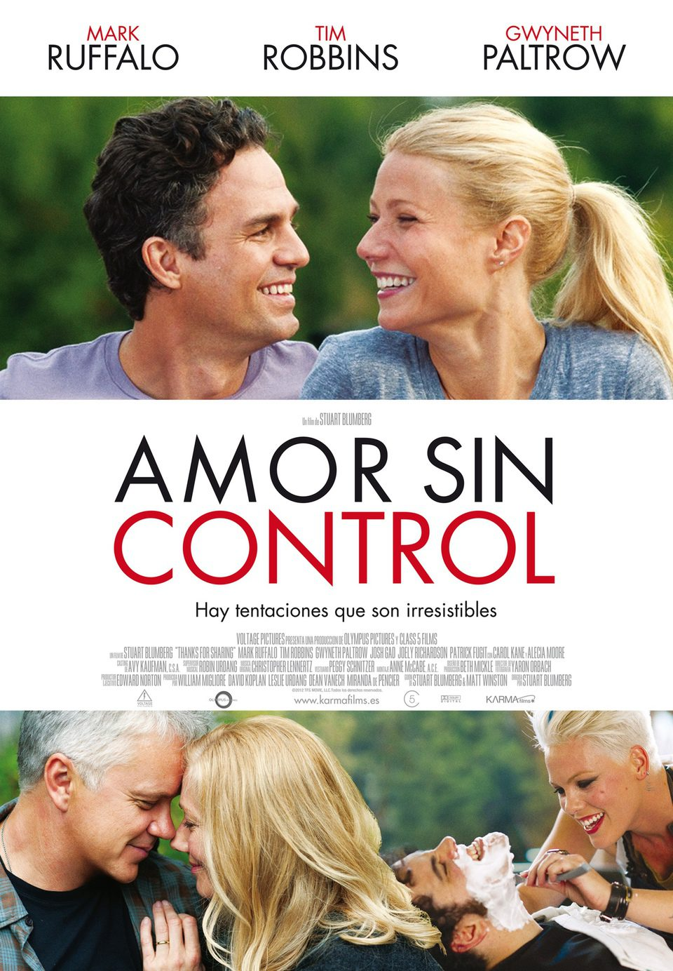 Cartel España de 'Amor sin control'