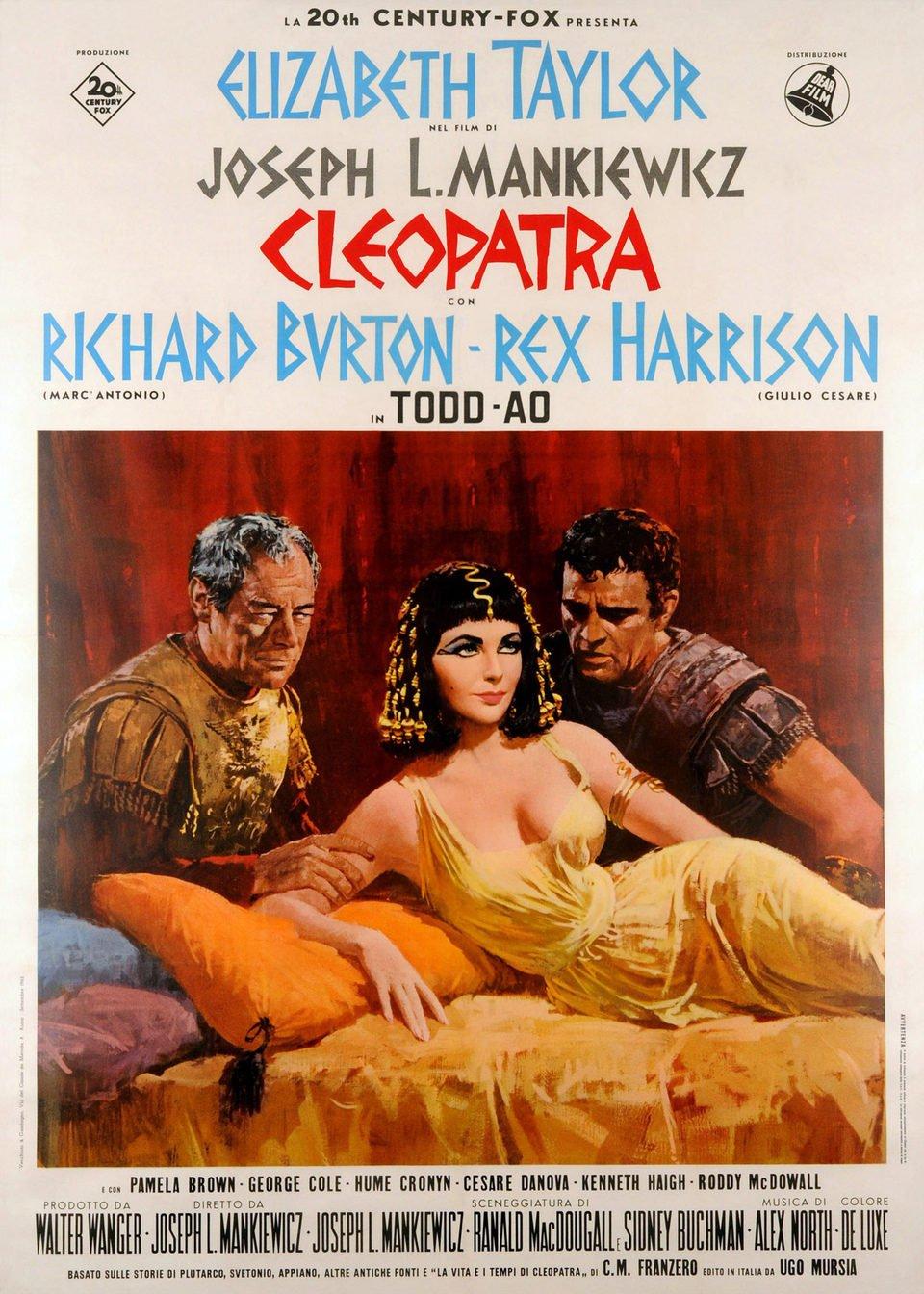 Cartel EEUU de 'Cleopatra'