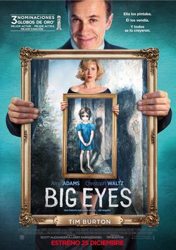 Cartel de Big Eyes