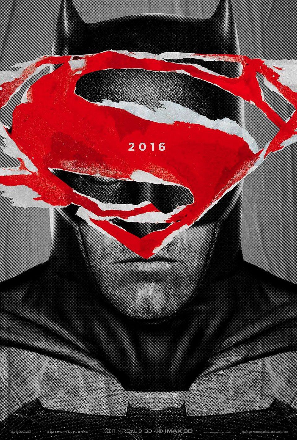 Cartel IMAX 2 de 'Batman v Superman: El amanecer de la Justicia'