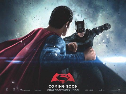 Cartel Hortizontal Batman de 'Batman v Superman: El amanecer de la Justicia'