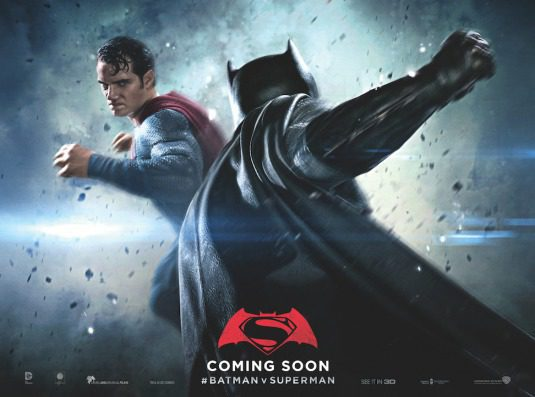Cartel Horizontal Superman de 'Batman v Superman: El amanecer de la Justicia'