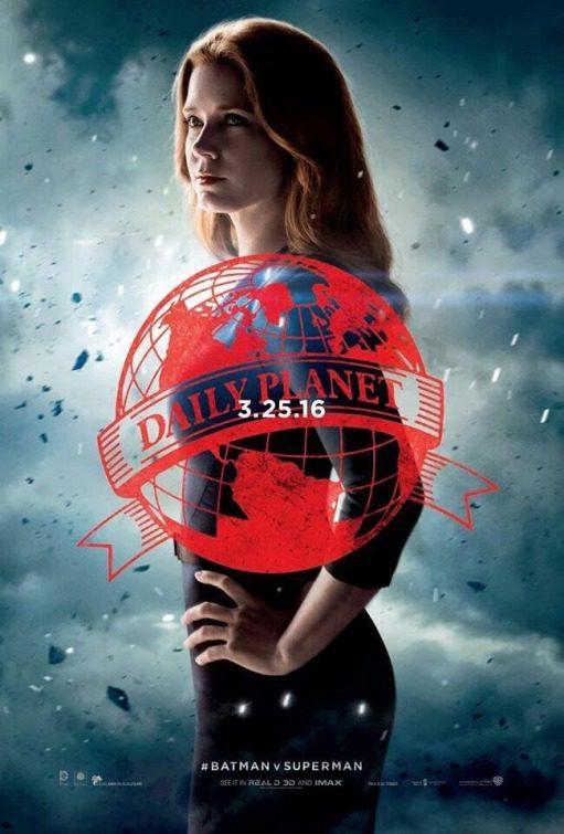 Cartel Lois Lane de 'Batman v Superman: El amanecer de la Justicia'