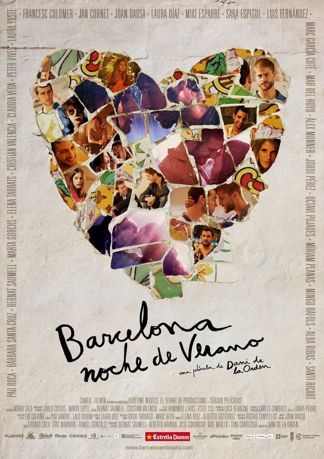 Cartel espa a de 39 barcelona noche de verano 39 ecartelera for Trabajos de verano barcelona