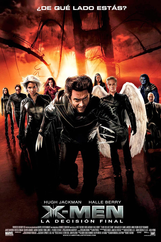 Cartel España de 'X-Men 3: La decisión final'