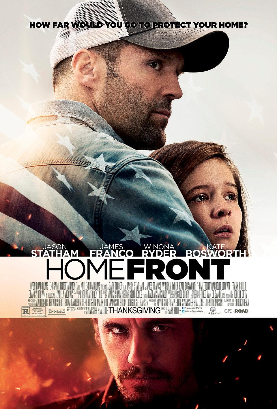 Cartel EE.UU de 'El protector (Homefront)'