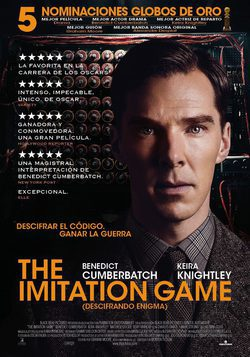 Cartel de The Imitation Game (Descifrando Enigma)