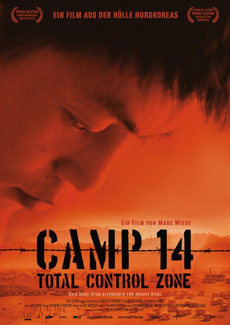 Cartel Alemania de 'Camp 14: Total Control Zone'