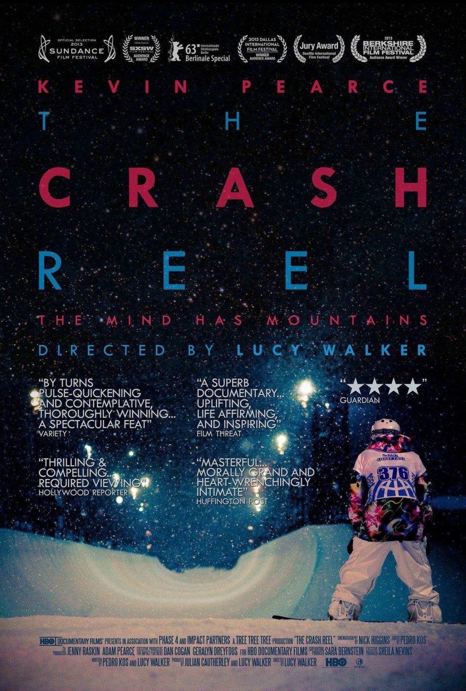 Cartel Reino Unido de 'The Crash Reel'