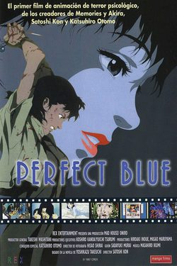 Cartel de Perfect Blue