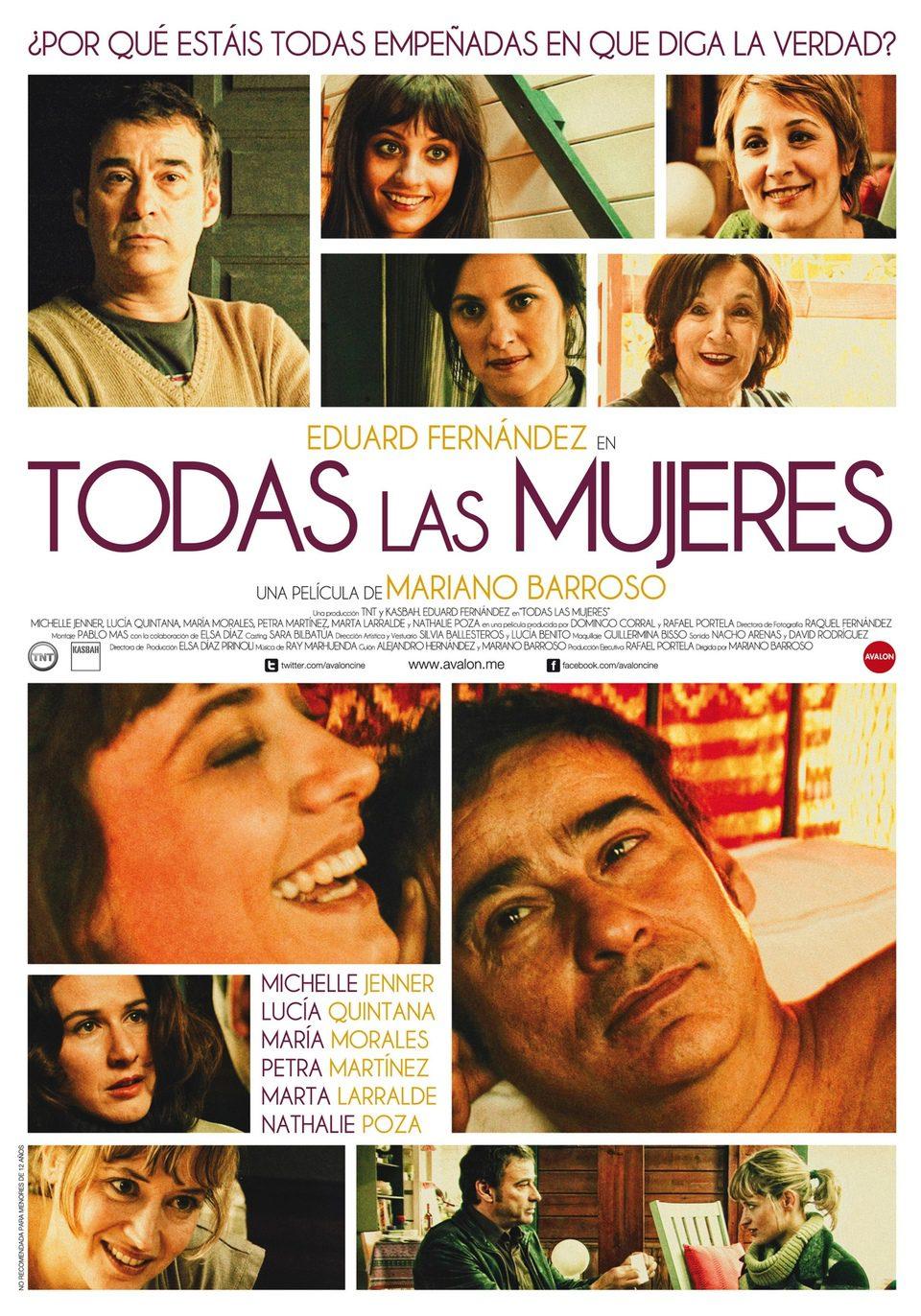 Cartel España de 'Todas las mujeres'