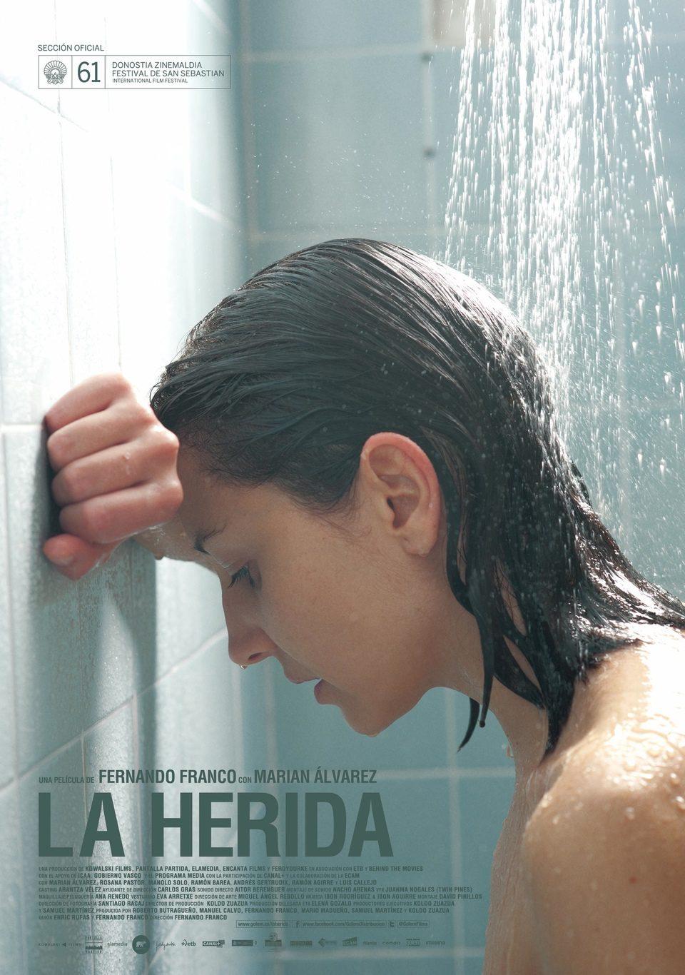 Cartel España de 'La herida'