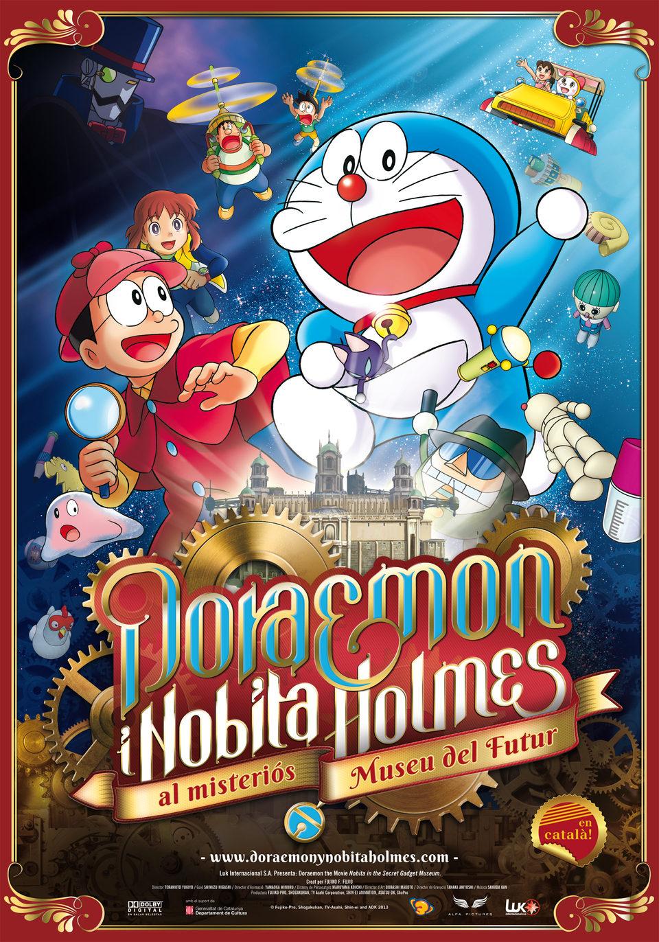 Doraemon y Nobita Holmes en el Misterioso Museo Del Futuro (2013) [Castellano]