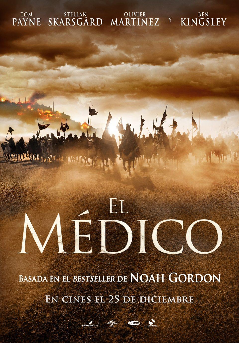 Cartel Teaser España de 'El médico'
