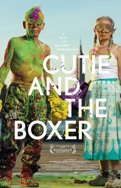 Cartel de Cutie and the Boxer