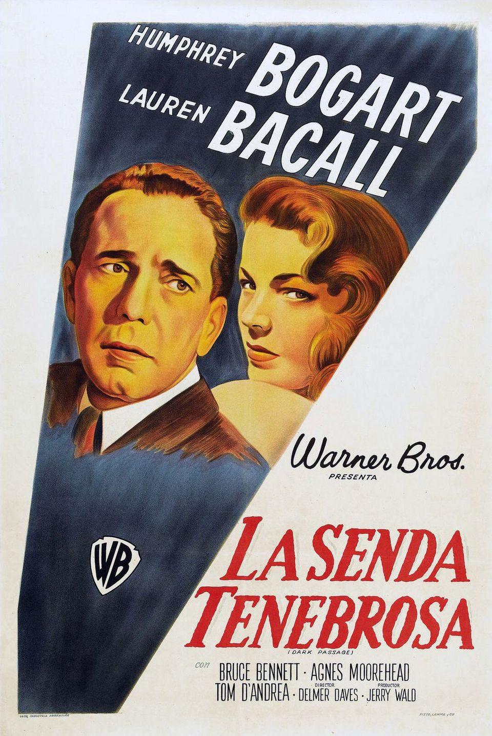 Cartel España de 'La senda tenebrosa'