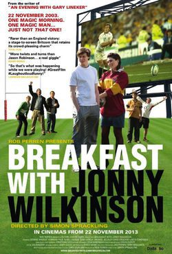 Cartel de Breakfast With Jonny Wilkinson