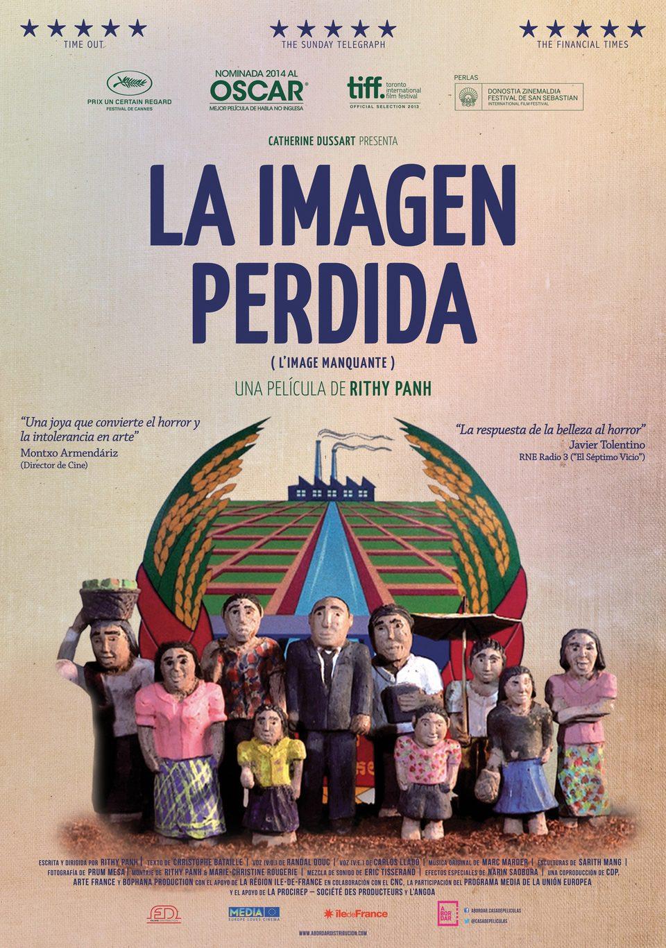 Cartel España de 'La imagen perdida'