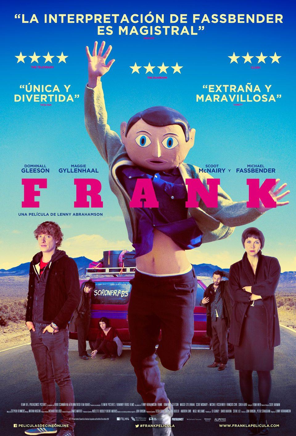 Cartel España de 'Frank'