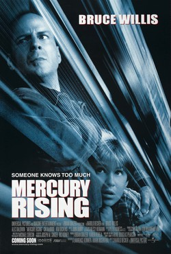 Cartel de Mercury Rising (Al rojo vivo)