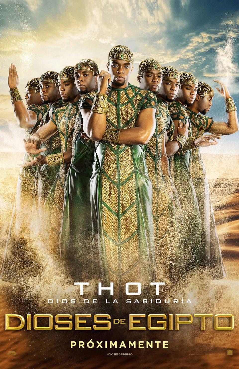 Cartel Thot de 'Dioses de Egipto'