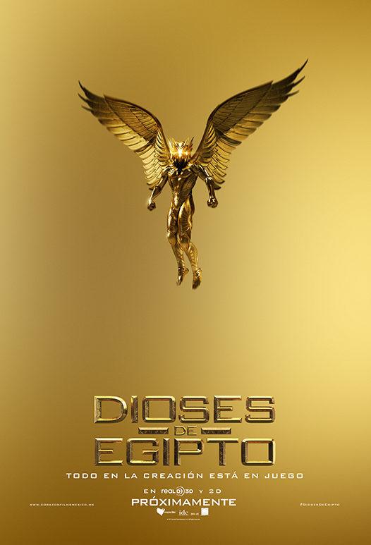 Cartel México de 'Dioses de Egipto'