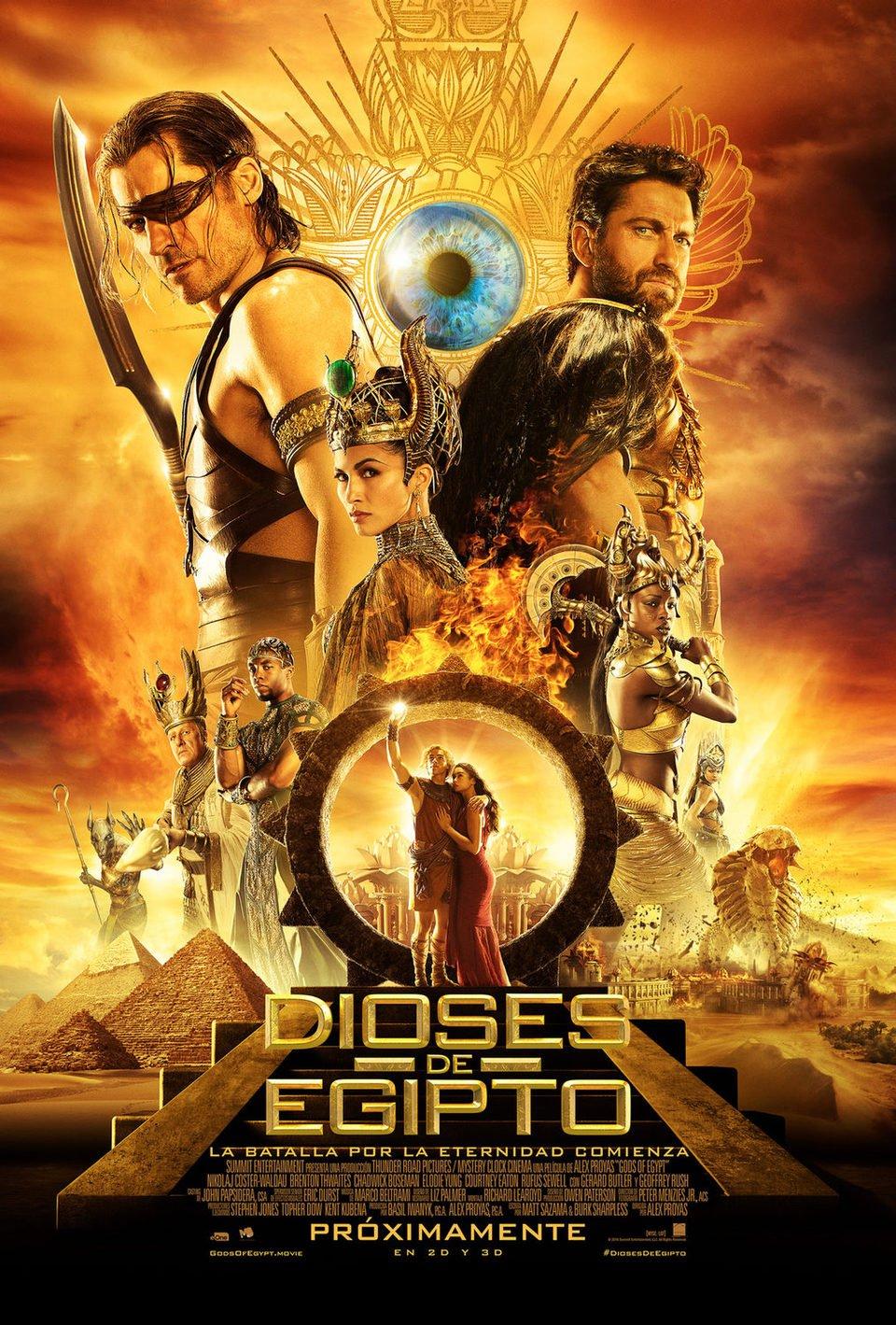 Cartel Final España de 'Dioses de Egipto'