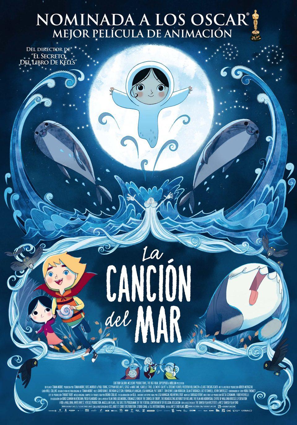 Cartel España de 'La canción del mar'
