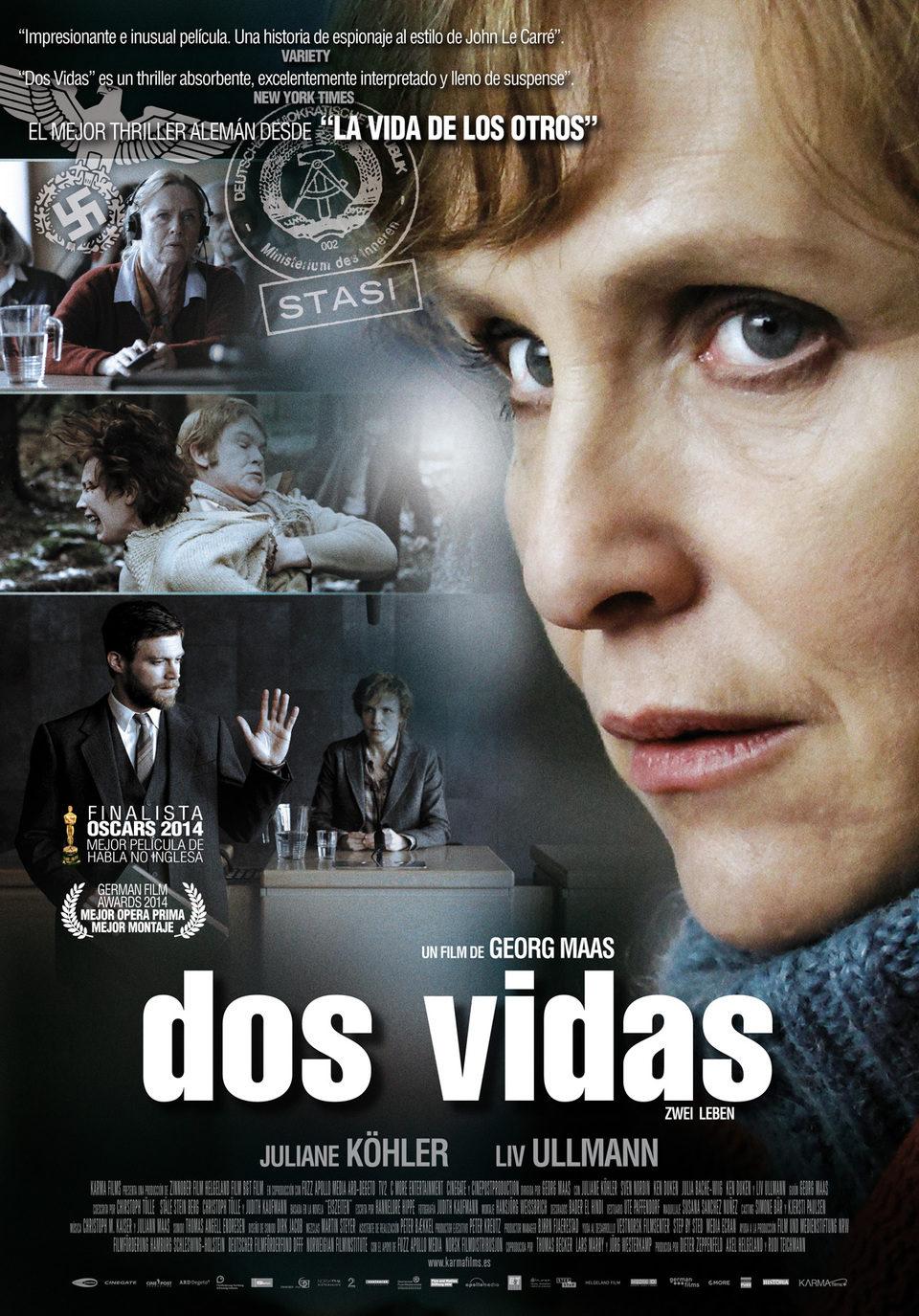 Cartel España de 'Dos vidas'