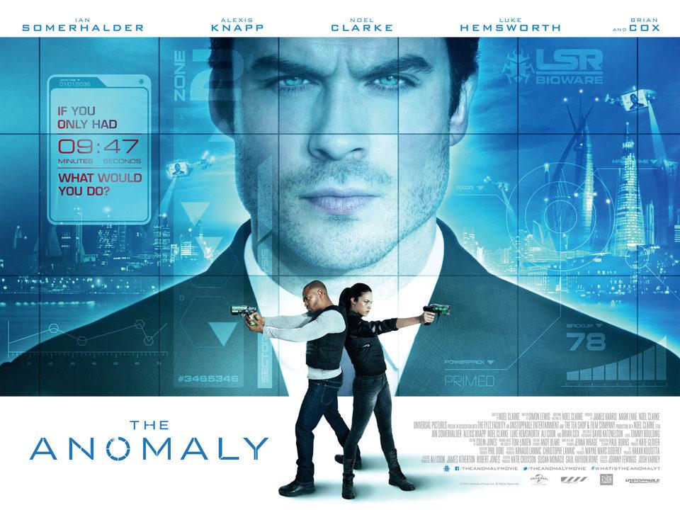 Cartel Reino Unido de 'The Anomaly'
